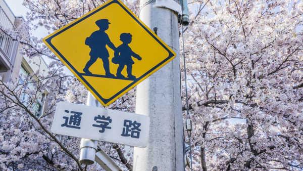 通学路の写真