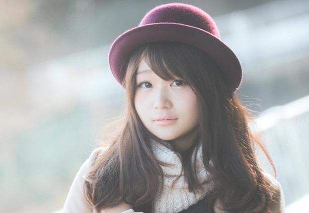 かわいい女の子の写真
