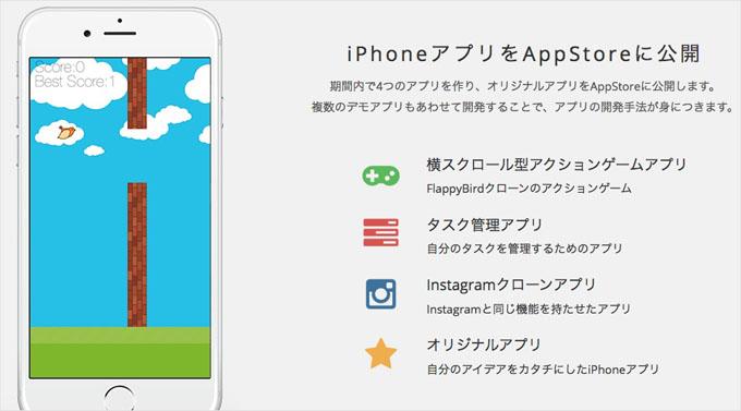 iphoneアプリをappstoreに公開