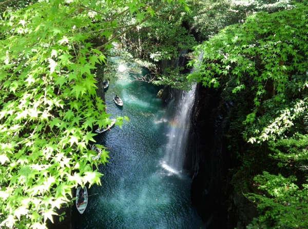 高千穂峡の風景写真