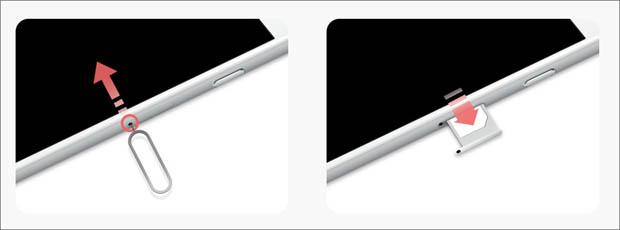 iphoneのsimカードを入れ替える方法