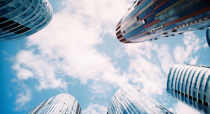 高い高層ビル