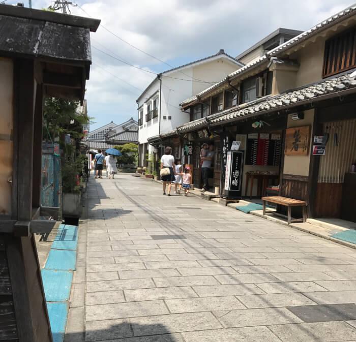 大分県日田市豆田町の風景