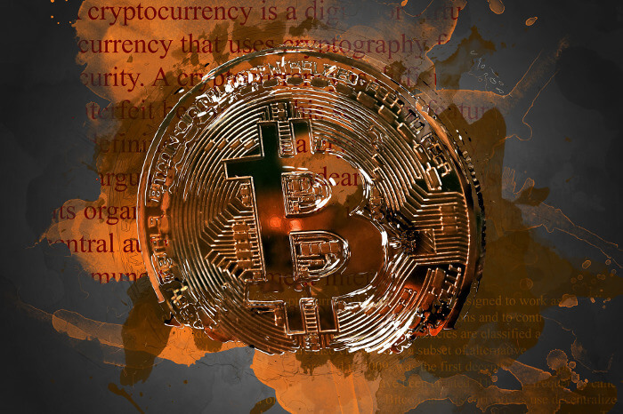 ビットコインが世界に流通しているイメージ