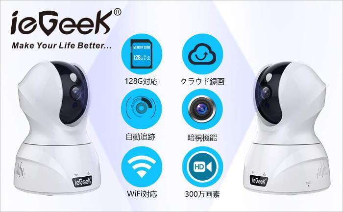 ieGeek ネットワークカメラ