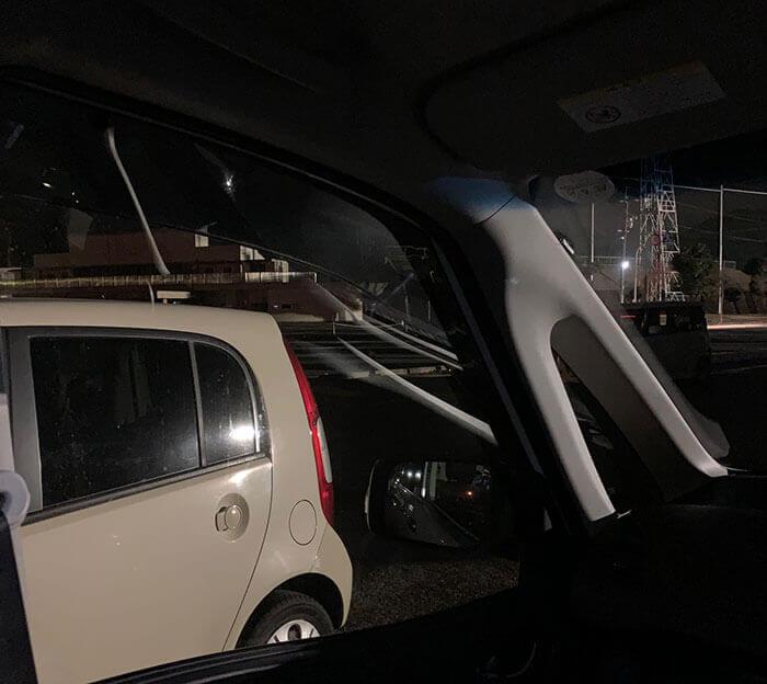 セレナの車内